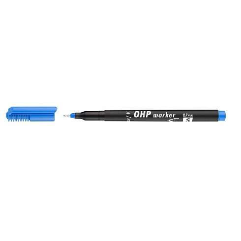 Image of Alkoholos marker, OHP, 0,3 mm, S, ICO, kék