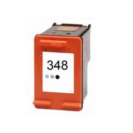 hp 348 fotó színes utángyártott tintapatron (hp c9369)