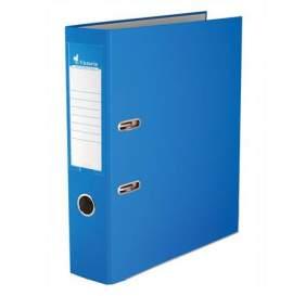 """Iratrendező, 75 mm, A4, PP/karton, élvédő sínnel, VICTORIA, """"Basic"""", kék"""