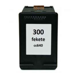 Hp 300 fekete utángyártott tintapatron (Hp CC640EE)