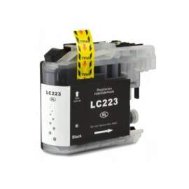 Brother LC223 fekete utángyártott tintapatron