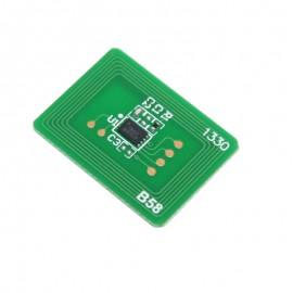 Oki C612 utángyártott chip, sárga