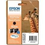 Epson T0711H fekete tintapatron, dupla