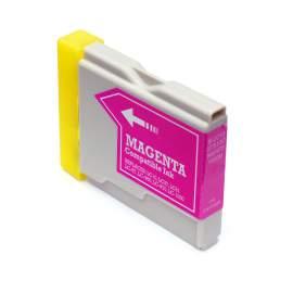 Brother LC1000 / LC970 Magenta utángyártott tintapatron